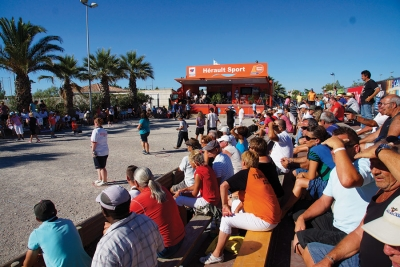 Du 26 au 30 Juillet 2018, l'incontournable International Pétanque de Palavas